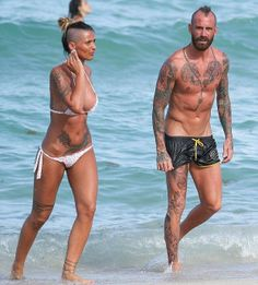 Raul Meireles and his girlfriend