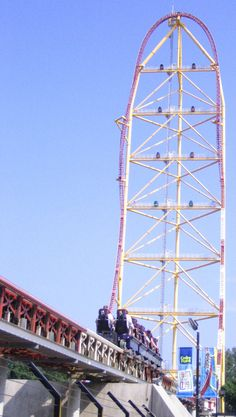 Cedar Point's Top Thrill Dragster talk about  an awesome ride with a rush!