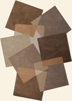 Angelo Pebbles 9718-632 Rug from the Shapes Irregular and Odd Rugs II collection at Modern Area Rugs