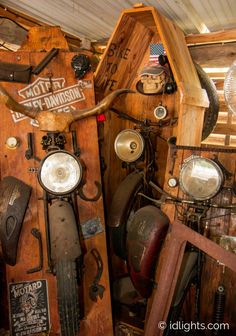 Farmhouse Pendant Lighting, Farmhouse Lamps, Motorcycle Parts, How Beautiful, Lights, Artwork, Handmade, Work Of Art, Hand Made