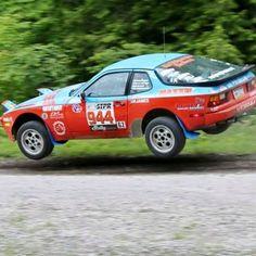 Porsche 944 rally Porsche 914, Wheel In The Sky, Flying Car, Turbo S, Rally Car, Le Mans, Fast Cars, Custom Cars, Cool Cars
