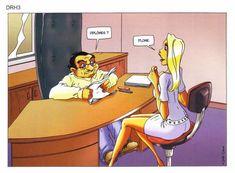 entretien d'embauche (blague de blonde)