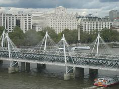 a view from the London Eye London Eye, Tower Bridge, United Kingdom, Louvre, The Unit, Building, Travel, Viajes, Buildings
