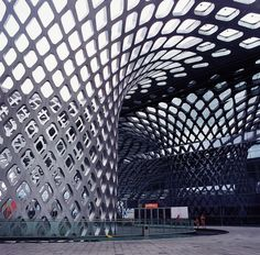 Shenzhen Bay Sports Center by AXS SATOW Dubbed the Spring Cocoon, it's used mostly for table tennis, swimming and football.