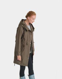 Joules Swithin Waterproof Parka-Style Coat