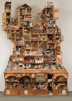 Miniatures - The real Mouse Mansion <3