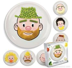 food face plates for kids