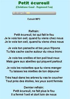 Petit écureuil - Christiane Gaud / Raymond Fau à écouter sur Music Me http://www.musicme.com/#/Raymond-Fau/albums/Les-Tresors-De-Studio-Sm---Chansons-Et-Comptines-3133580131516.html
