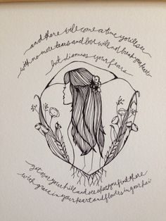 After the Storm // Original Drawing Print // Mumford and by Brenna, $20.00 #mumfordandsons