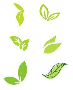 나뭇잎 일러스트 1 Typography Logo, Logo Branding, Vector Verde, Tea Logo, Tree Stencil, Organic Logo, Green Logo, Logo Restaurant, Logo Food