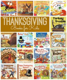 17 fun and educational Thanksgiving books your kids will love! Thanksgiving Crafts For Toddlers, Thanksgiving Stories, Fall Preschool, Thanksgiving Activities, Preschool Themes, Autumn Activities, Book Activities, Holiday Classrooms, Classroom Ideas