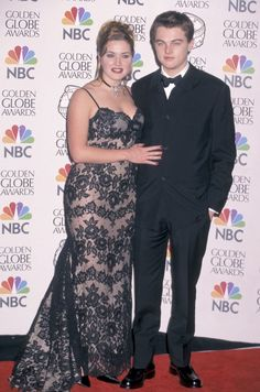 Pin for Later: See How Much Leonardo DiCaprio Has Changed Since His First Award Show Red Carpet Golden Globe Awards, 1998