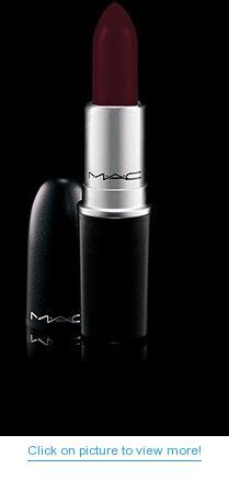 Ladies! My new favorite lipstick. Pair it with Vino lip Liner and you get the most beautiful burgundy EVER. Mac Studded Kiss Lipstick- Punk Couture Collection 2013