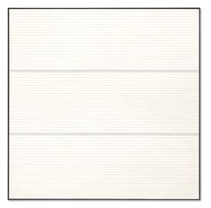 """Agnes Martin - """"Untitled 9,"""" 1988, acrylic and graphite on canvas"""