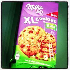 Milka XL Cookies Nuts #keks #cookie #xl #nut #nuss #chocolate #schokolade #milka #mondelez
