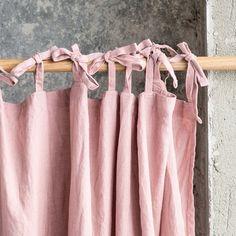 Kornblume Flieder. Leinen Gardinen gewaschen / von notPERFECTLINEN