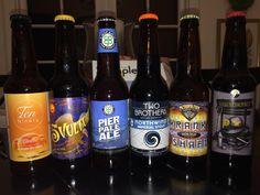 Six Different Chicago Breweries - Thoughts? #FavoriteBeers #summershandy #beers #footy #greatnight #beer #friends #craftbeer #sun #cheers #beach #BBQ
