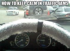 Funny pictures about How to keep calm in traffic jams. Oh, and cool pics about How to keep calm in traffic jams. Also, How to keep calm in traffic jams. Humor Grafico, I Love To Laugh, Funny Photos, Funniest Pictures, Random Pictures, School Pictures, Animal Pictures, I Laughed, Laughter