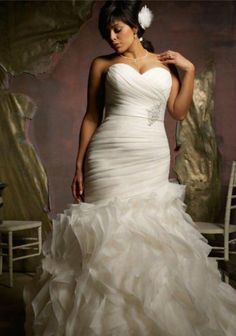 Wedding gowns for the curvy girl.