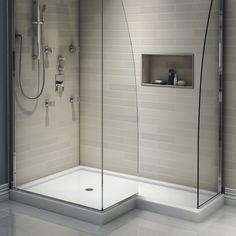 The Space Shower Base exudes modern appeal. http://www.ybath.com/blog/top-10-shower-bases/