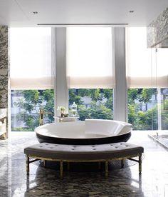bathroom design: David Collins Interior Design