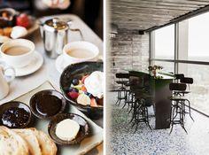duck & waffle, 40th floor, heron tower, the city, london   park & cube