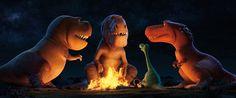 Campfire Stories with Director Peter Sohn and Creative Team of Pixar's THE GOOD DINOSAUR #GoodDinoEvent
