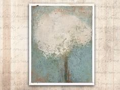 Original Oil Painting of A Tree in Bloom — Unframed Painting on Paper in Cold Wax and Oil Original Art, Original Paintings, Vinyl Sleeves, Women Poetry, Santa Rosa Beach, Different Textures, Oil Painting Abstract, Daffodils, Great Photos