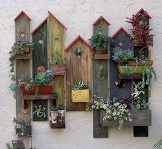 Garden Yard Ideas, Garden Projects, Wood Projects, Driftwood Crafts, Wooden Crafts, Rustic Gardens, Diy Home Crafts, Yard Art, Garden Inspiration