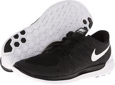 Nike Nike Free 5.0 '14 Black/Anthracite/White - Zappos.com Free Shipping BOTH Ways