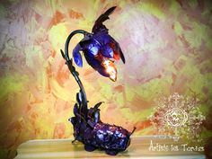 Bedside lamp magical collection elven bedside by Artistelestordus