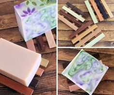 Reclaimed Wood Soap Dishes