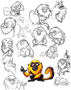 Find more at https://www.facebook.com/CharacterDesignReferences if you ar looking for: #art #character #design #model #sheet #illustration #best #concept #animation #drawing #archive #library #reference #anatomy #traditional #draw #development #artist #animal #animals #apes