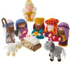Free Pinterest Nativity Crochet Patterns | Gourmet Crochet Amigurumi Nativity Pattern CHECK PRICE