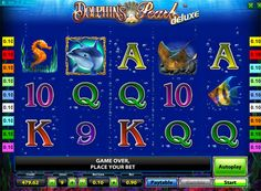 Playing Dolphins Pearl Deluxe slot machine for real money. Slot machine Dolphins Pearl Deluxe was developed by Novomatic. Among the players in this slot often called the Dolphin, or in rare cases Pearl Dolphin. It can be played for real money, and pictures of marine life and the free spins will help get good benefits. But if you want the players can at