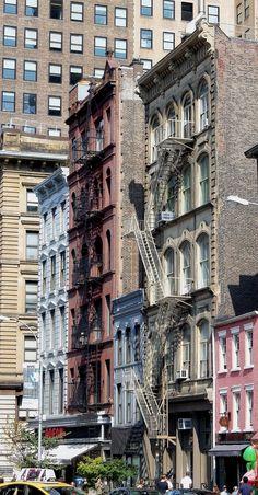 Buildings in Tribeca, Manhattan.
