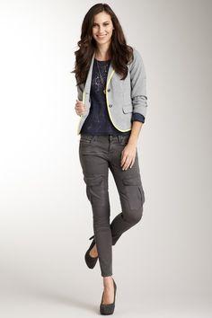 Taverniti--     Cargo Skinny Jean