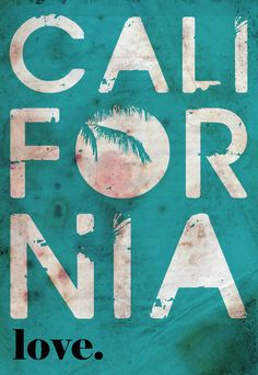 California Art Print by Michalis Argyrou California Love, California Dreamin', California Girl Quotes, Photo Images, Cali Girl, Hang Ten, Photocollage, Photos, Pictures