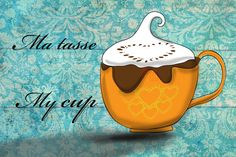 My love of coffee overfloweth - What my #coffee says to me March 30
