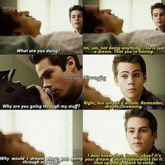 I love Stiles