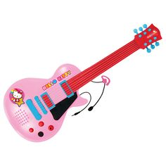 Hello kitty guitarra electrónica c/micro
