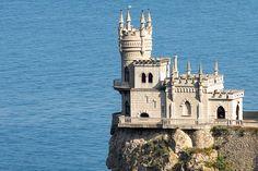 Castelo ninho da andorinha, Yalta, Ucrânia.