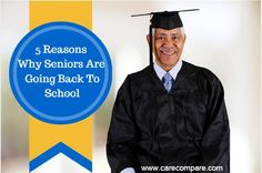 5 Reasons Why Seniors Are Going Back To School