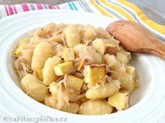 Bramborove-noky-se-zelim Seitan, Tofu, Family Meals, Potato Salad, Macaroni And Cheese, Potatoes, Ethnic Recipes, Mac And Cheese, Potato