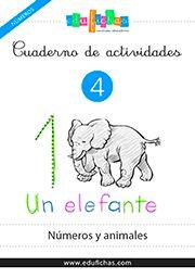 Cuaderno de números y animales. enlace directo pdf http://www.edufichas.com/wp-content/uploads/2015/05/mn-04-cuadernillo-numeros-animales.pdf