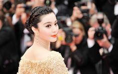 Download wallpapers Fan Bingbing, smile, chinese actress, asian girls, portrait, beauty