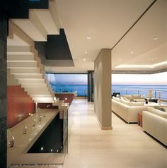 Cape Town Contemporary with Ocean Views from Every Room by Antoni Associates