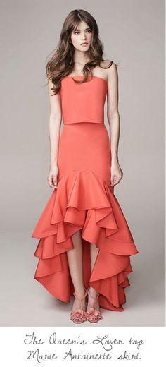 Get inspired and discover Johanna Ortiz trunkshow! Shop the latest Johanna Ortiz collection at Moda Operandi. Dress Skirt, Dress Up, Frill Dress, High Fashion, Womens Fashion, African Fashion, Beautiful Dresses, Evening Dresses, Ready To Wear