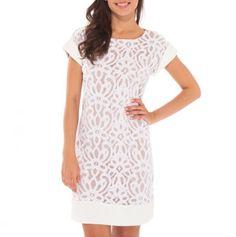 Crochet Lace Dress - Dresses by Tiana B