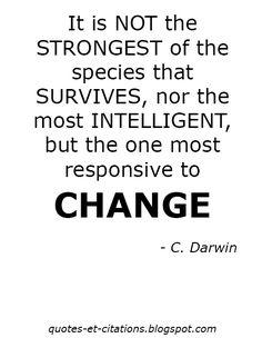 Quotes Et Citations: C. Darwin